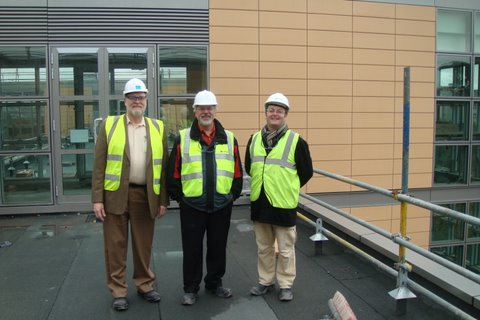 Visiting the new 4C facilities
